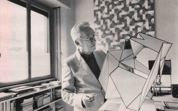 Maria Mulas, Bruno Munari, 1980
