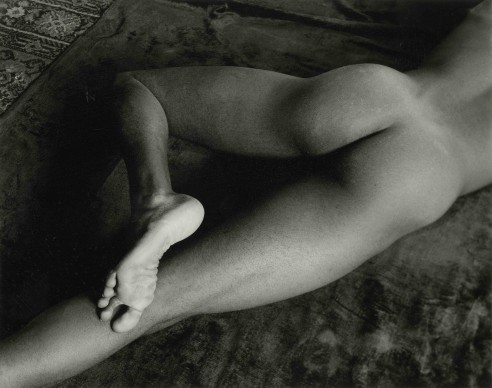 Minor White, Nude Foot, San Francisco, March 23, 1947
