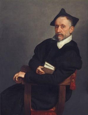Giovanni Battista Moroni , Il maestro di scuola, 1575. Washington, National Gallery