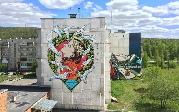 Satka Street Art Festival 2017, Diamond e Solo