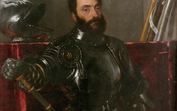 Tiziano Vecellio, Ritratto di Francesco Maria della Rovere, duca di Urbino, 1536, Galleria degli Uffizi, Firenze