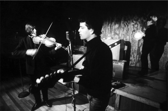 John Cale, Lou Reed and Maureen Tucker at Cafè Bizarre, NY, 1965 © Adam Ritchie Photography, www.adam-ritchie-photography.co.uk