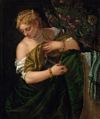 Veronese, Lucrezia, 1580‒83. Kunsthistorisches Museum, Vienna