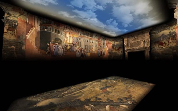 Dreaming Siena estate 2017 videomapping duomo oratorio