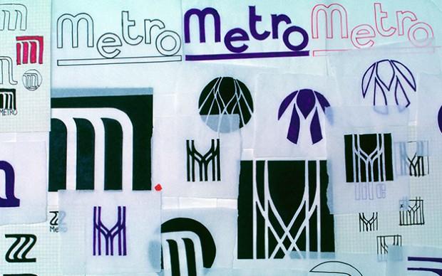 Lance Wyman per la metropolitana di Città del Messico