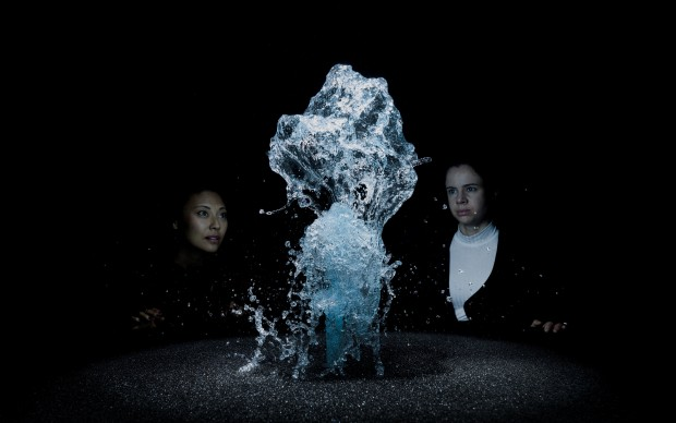 Olafur Eliasson, Big Bang Fountain, 2014 Installation view at Moderna Museet, Stockholm, 2015. Photo: Anders Sune Berg (CNW Group/Musée d'art contemporain de Montréal)
