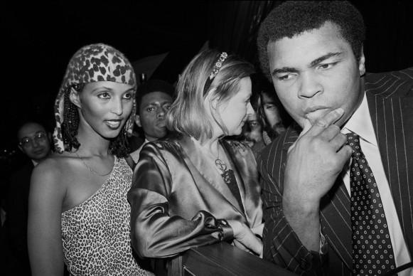 Mohammad Ali al Roseland Ballroom. New York, 1980 © Donna Ferrato