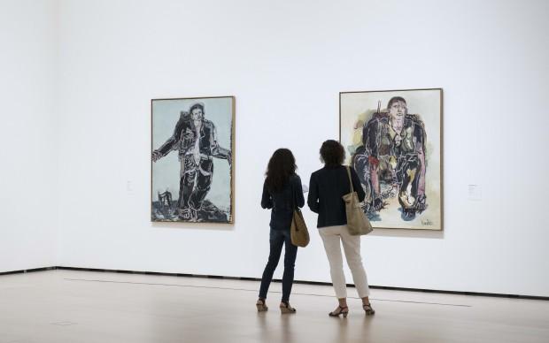 George Baselitz, Eroi, Guggenheim Museum Bilbao