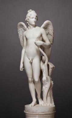 Antonio Canova. Amore alato, Marmo H. 142, prov. Ermitage