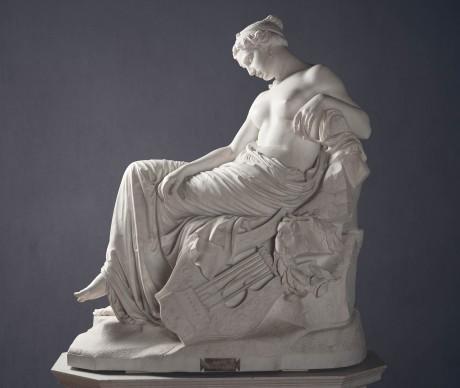 Giovanni Duprè, Saffo, marmo , Galleria Nazionale d'Arte Moderna Roma