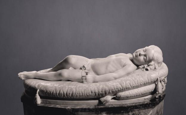 Giovanni Duprè, Il Sonno dell'innocenza, marmo,  Museo dell'Opera Metropolitana, Siena