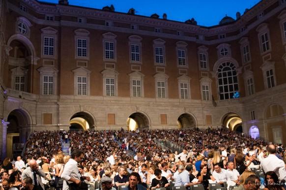 Ennio Morricone in concerto per Un'Estate da Re alla Reggia di Caserta, 11 luglio 2017. Photo by Luigi Panico per Sky Arte HD
