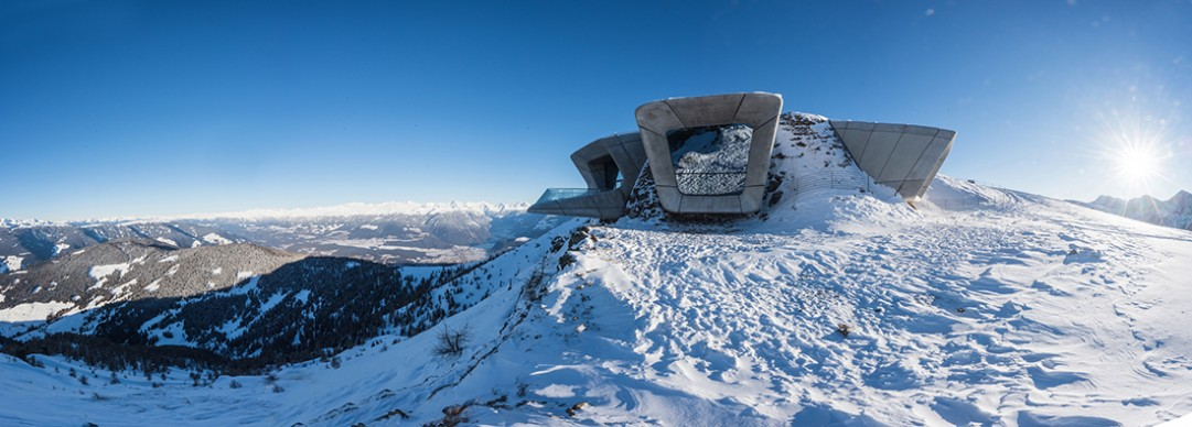 Zaha Hadid, Messner Mountain Museum (Museo della montagna Messner), Plan de Corones 2015, photo Harald Wisthaler Courtesy Zaha Hadid Architects