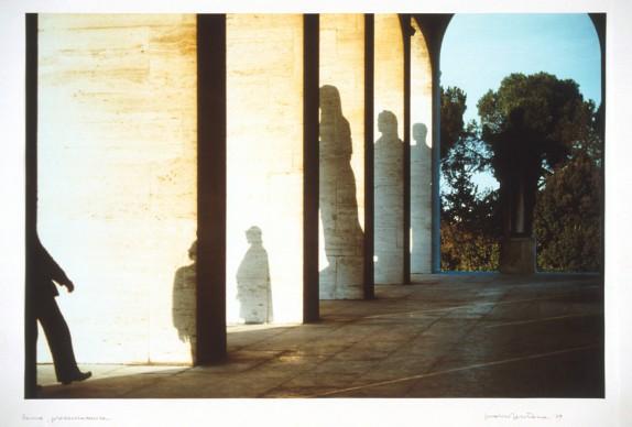 Franco Fontana, Presenzassenza, Roma Eur, 1979, UniCredit Art Collection