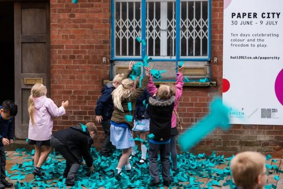 Momento inaugurale di Paper City, Hull - Gran Bretagna, 30 giugno - 9 luglio 2017
