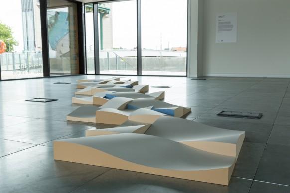 Joanna Sands, Untitled, parte della mostra Paper City, Hull - Gran Bretagna, 30 giugno - 9 luglio 2017
