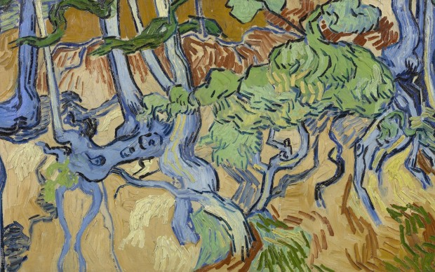 Vincent van Gogh, Tree Roots, 1890
