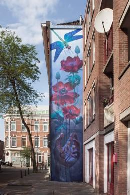 Natalia Rak per Sober Walls 2017, Rotterdam