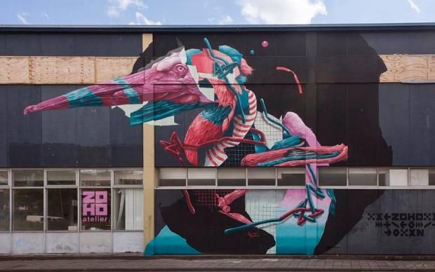 Joram Roukes per Sober Walls 2017, Rotterdam