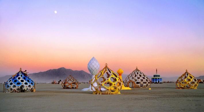 Philippe Glade, immagine tratta dal libro fotografico Black Rock City, NV. The new ephemeral architecture of Burning Man
