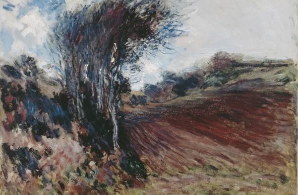 Claude Monet, Les fonds d'Etretat, 1884