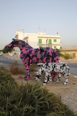 Olek a BLOOP Festival 2012 - Appearance, Ibiza
