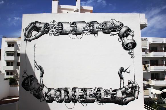 Phlegm a BLOOP Festival 2012, OpenAir.Gallery, Ibiza