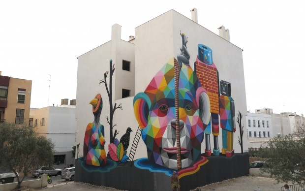 2015 MULTIVERSE Okuda BLOOP Festival Ibiza