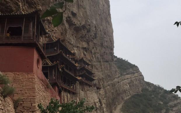 tempio monastero sospeso cina