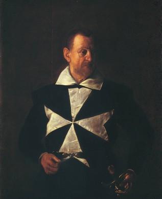 Michelangelo Merisi da Caravaggio, Ritratto di un cavaliere di Malta, 1608, olio su tela, 118,5 x 95 cm, Galleria Palatina di Palazzo Pitti, Firenze Gabinetto Fotografico delle Gallerie degli Uffizi