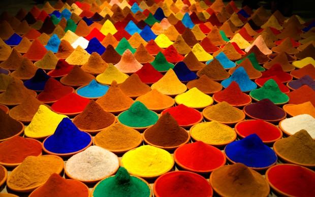 Sonia Falcone, Campo de Color (Color Field), 2012, Installation, dimensions variable. Courtesy of the artist. © Sonia Falcone Art
