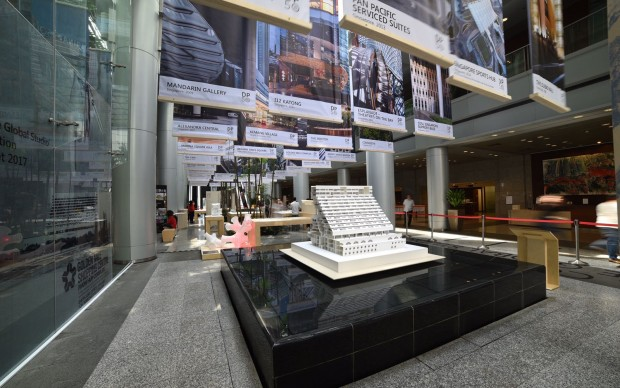DP studio architettura Singapore mostra anniversario