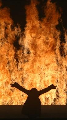 Fire Woman, 2005, interpreti: Robin Bonaccorsi, Courtesy of Bill Viola Studio © Bill Viola. Photo: Roman Mensing