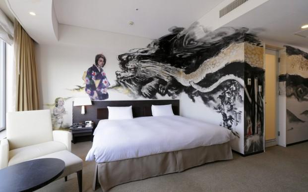 Kiyoko Abe, Artist Room Dragon, Park Hotel Tokyo