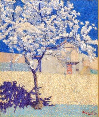 ACHILLE LAUGÉ, The Flowering Tree (L'arbre en fleur), 1893. Private collection © Achille Laugé, VEGAP, Bilbao, 2017