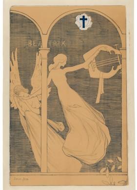 Edmond Aman-Jean  Beatrix, ca. 1892–93  Barbara Leibowits Graphics, New York  Photo: © Solomon R. Guggenheim Foundation