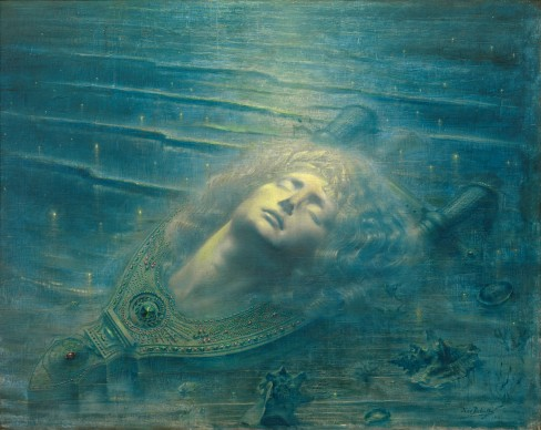 Jean Delville  The Death of Orpheus (Orphée mort), 1893  Royal Museums of Fine Arts, Belgium  © 2017 Artists Rights Society (ARS), New York/SABAM, Brussels  Photo: © Royal Museums of Fine Arts, Belgium, Brussels: J. Geleyns-Ro scan