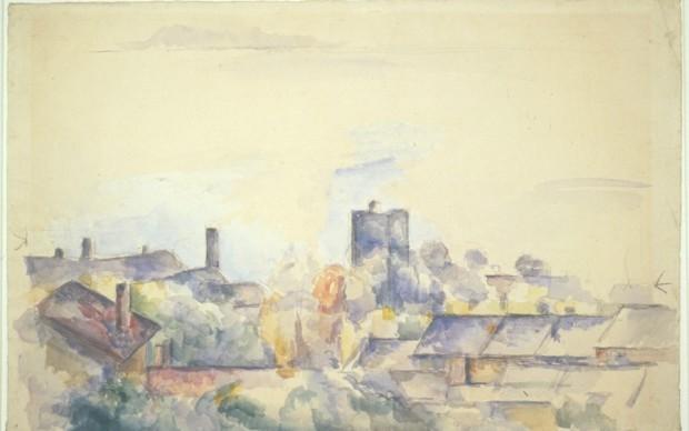 Paul Cézanne, Rooftops of l'Estaque, c. 1878 – 1882, Museum Boijmans Van Beuningen, Rotterdam (former collection Koenigs)