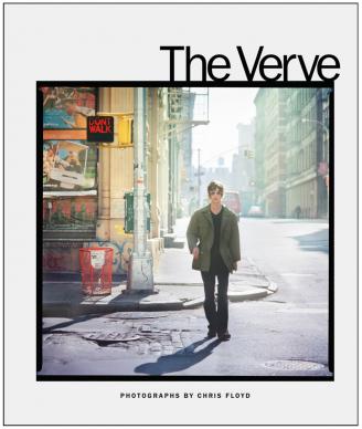 "Copertina del libro fotografico ""The Verve. Photographs by Chris Floyd"""