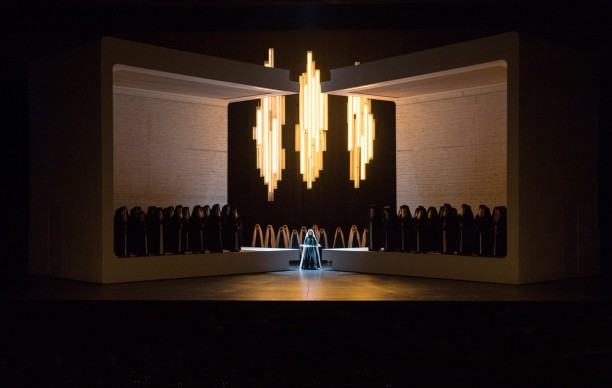 Aida 2017: Benedetta Torre (The High Priestess), Concert Association of the Vienna Opera Chorus © Salzburger Festspiele / Monika Rittershaus