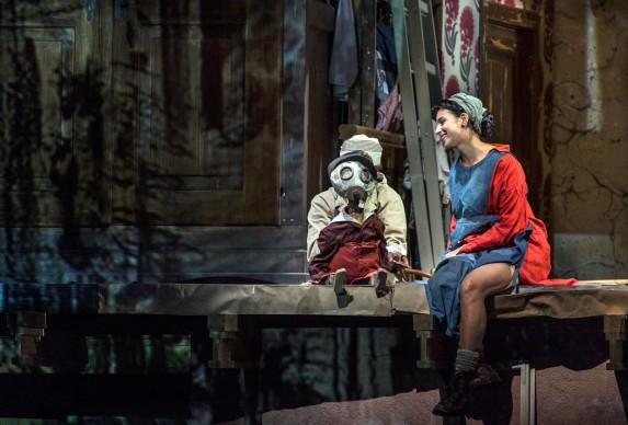 Alban Berg • Wozzeck 2017: Asmik Grigorian (Marie) © Salzburger Festspiele / Ruth Walz