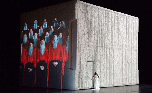 Aida 2017: Ekaterina Semenchuk (Amneris) © Salzburger Festspiele / Monika Rittershaus