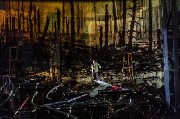 Alban Berg • Wozzeck 2017: Matthias Goerne (Wozzeck), Asmik Grigorian (Marie) © Salzburger Festspiele / Ruth Walz