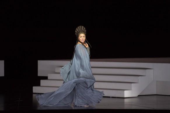 Aida 2017: Anna Netrebko (Aida) © Salzburger Festspiele / Monika Rittershaus