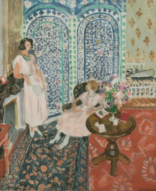 Henri Matisse, The Moorish Screen, 1921 Oil on canvas, 91 x 74 cm  Philadelphia Museum of Art. Bequest of Lisa Norris Elkins, 1950   Photo © Philadelphia Museum of Art/Art Resource, NY