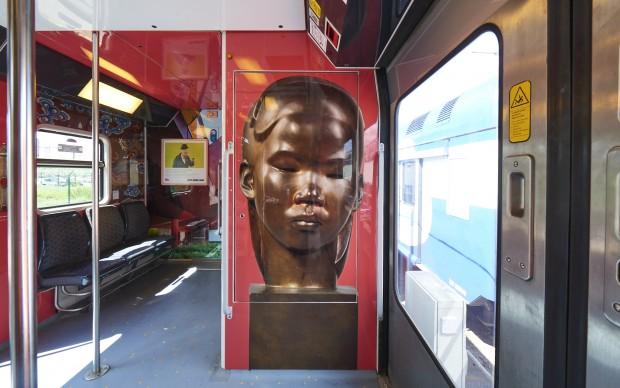 SNCF, Train des Arts et des Civilisations © Lise Decoox