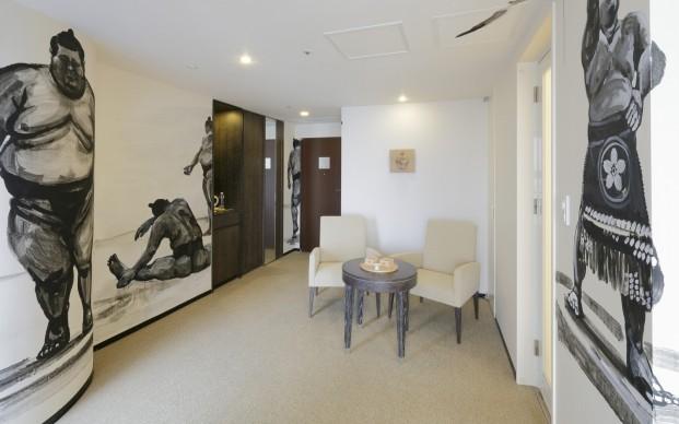 Hiroyuki Kimura, Artist Room Sumo, Park Hotel Tokyo