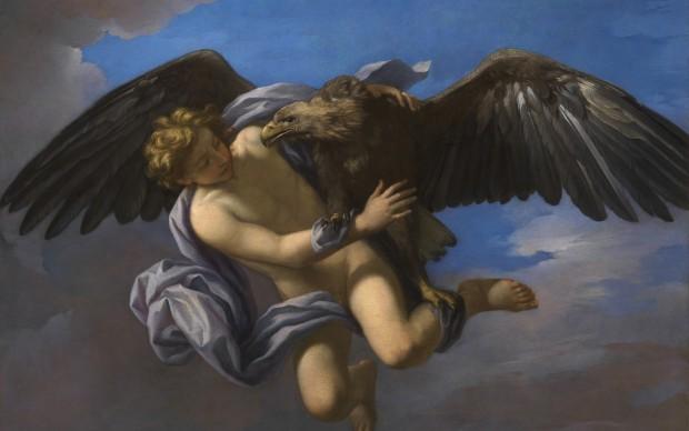 """Un'opera esposta presso la mostra """"Amori divini"""", al Museo Archeologico Nazionale di Napoli"""