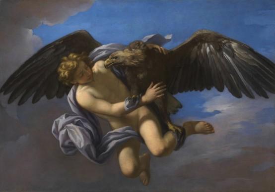 Anton Domenico Gabbiani (Firenze 1652 - 1726), Ratto di Ganimede, Firenze, Gallerie degli Uffizi, olio su tela, 1700