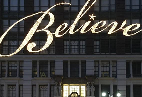 Yuri Catania, Believe, mostra No Fashion Places of America